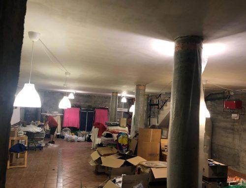 Adecuación de instalación eléctrica en sótano de vivienda